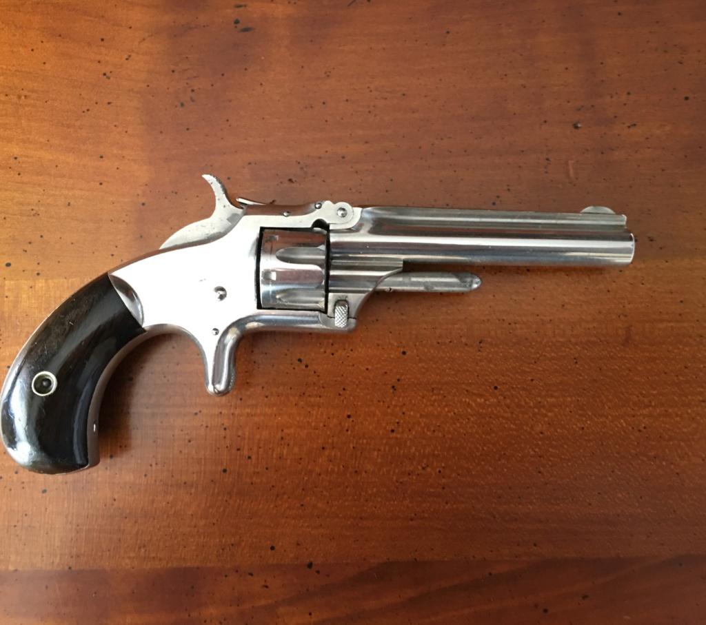 Smith&Wesson 1er Model 3 eme issue cal 22 rf D9ec8710