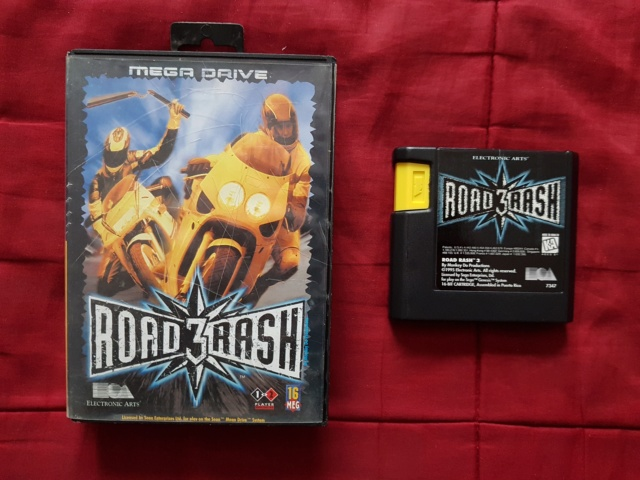 [VDS] Jeux Megadrive (3), Game boy loose (3), GBA loose (3) Road_r10