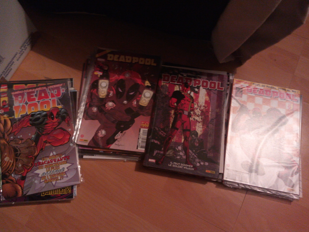 Estime collection Deadpool  Img_2043
