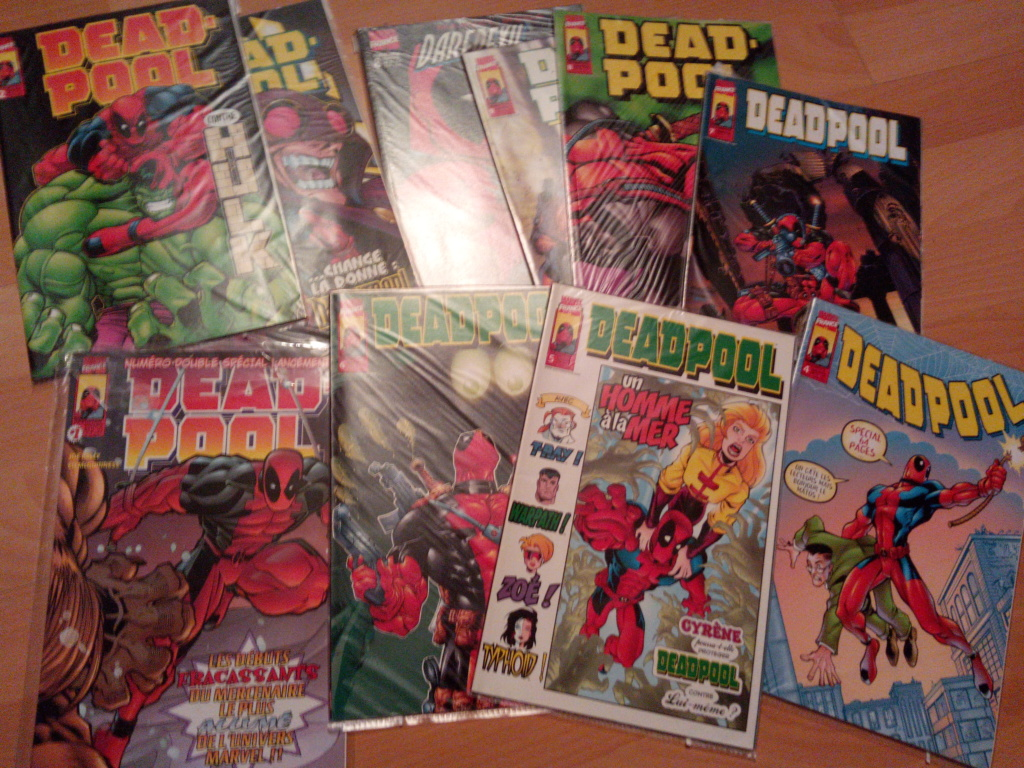 Estime collection Deadpool  Img_2044