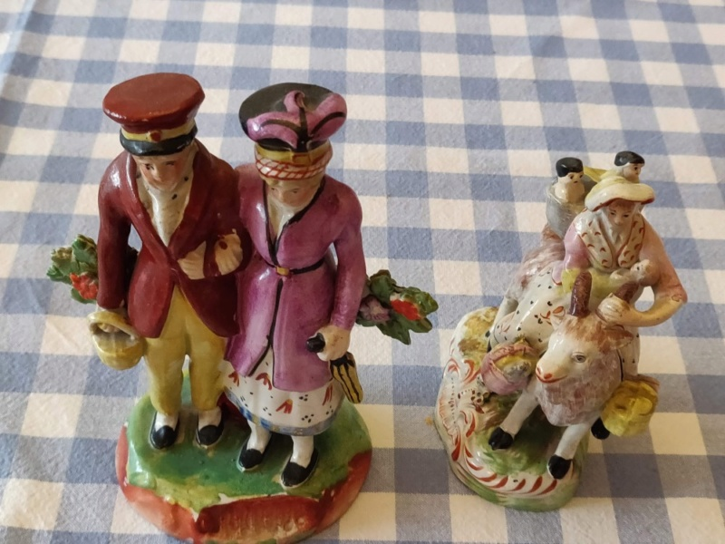 Staffordshire Pottery Figures 211