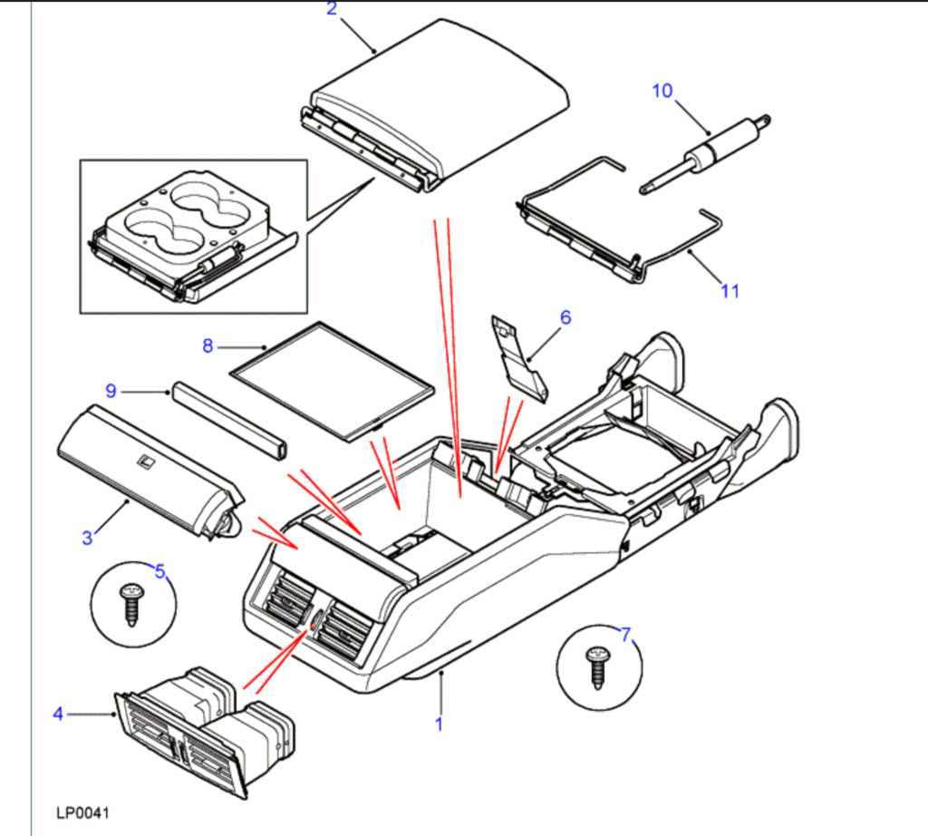 Changement vérin cubby box phase 1 : où est le vérin? 5a75e010