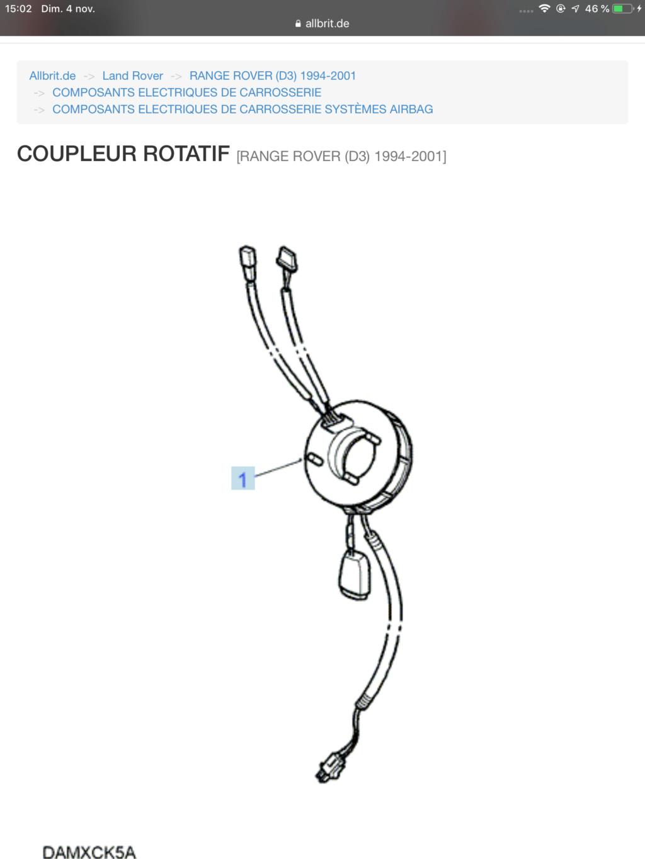 connecteur rotatif B87e5310