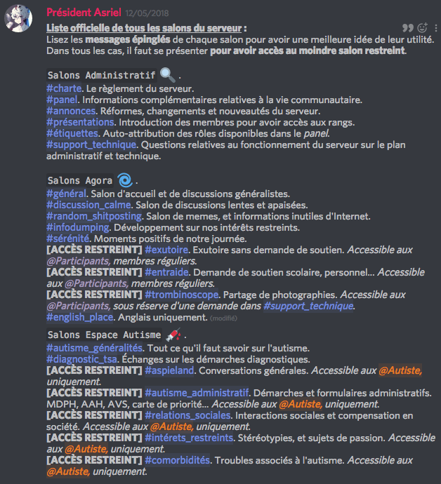 Discord Asperger francophone. Captur10