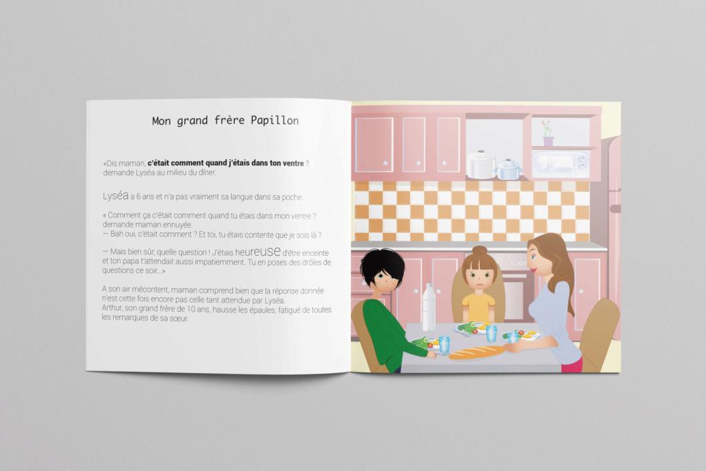 documentation pour les enfants, jumeaux esseulés Angle-10