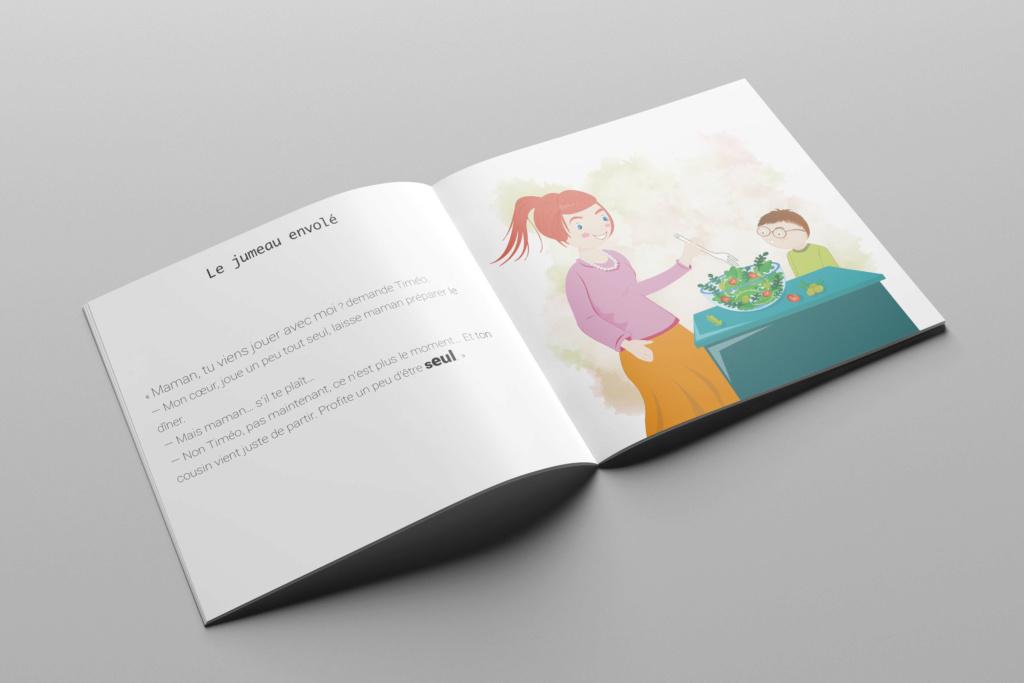 documentation pour les enfants, jumeaux esseulés Jumeau10