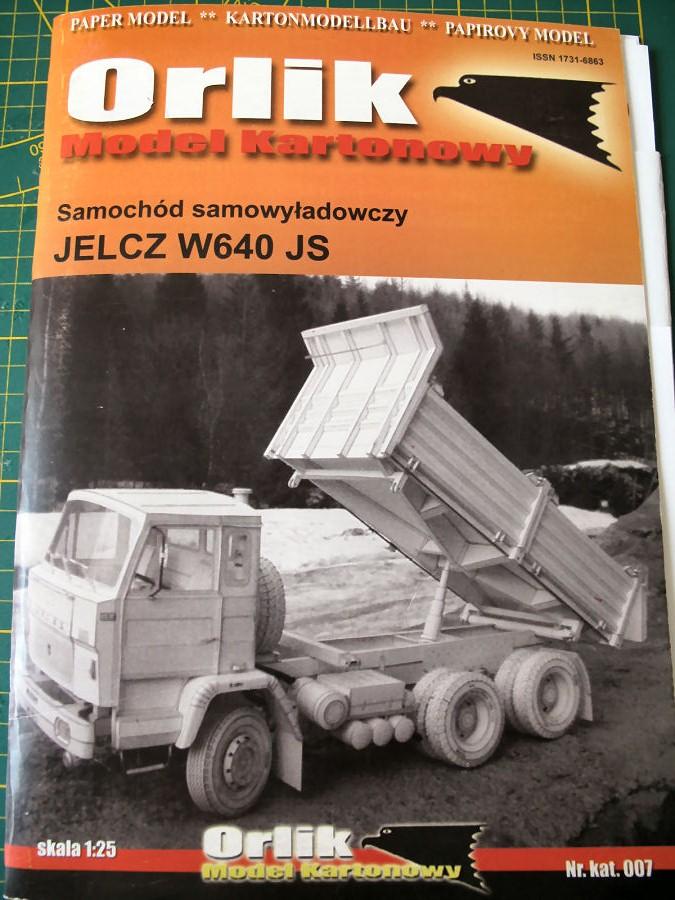 Jelcz W640 JS Kipplaster 1/12,5 ) gebaut von Bertholdneuss Img_1632