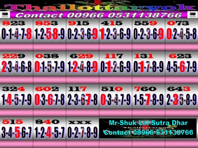Mr-Shuk Lal 100% Tips 16-11-2018 - Page 4 Non_pa33