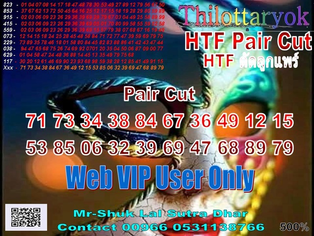 Mr-Shuk Lal 100% Tips 01-07-2018 - Page 2 Pair_c12