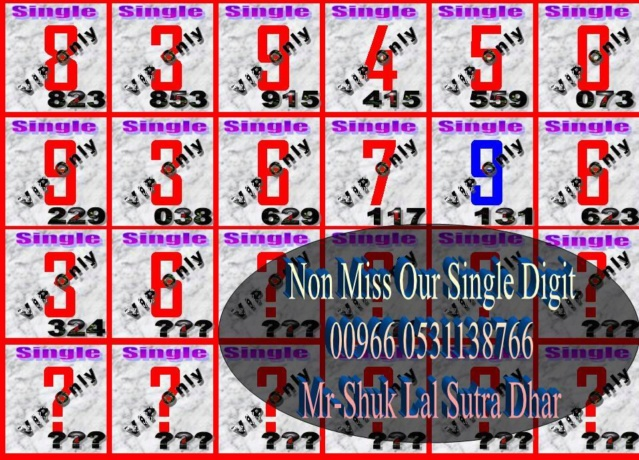Mr-Shuk Lal 100% Tips 16-08-2018 - Page 2 Single19