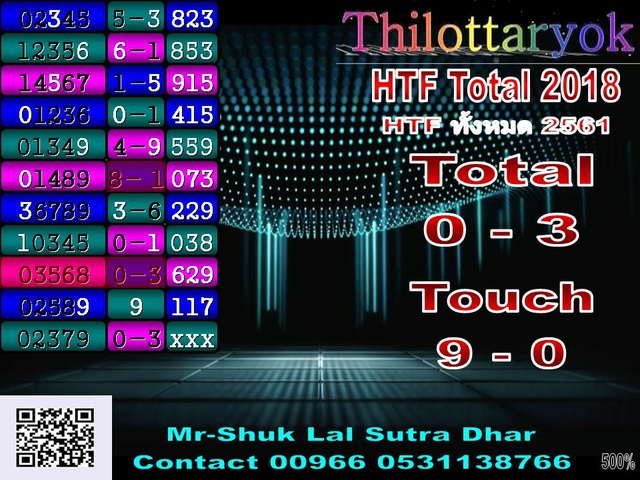 Mr-Shuk Lal 100% Tips 01-07-2018 - Page 2 Total_12
