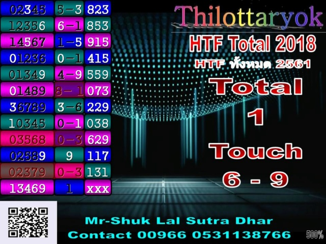 Mr-Shuk Lal 100% Tips 16-07-2018 - Page 2 Total_17