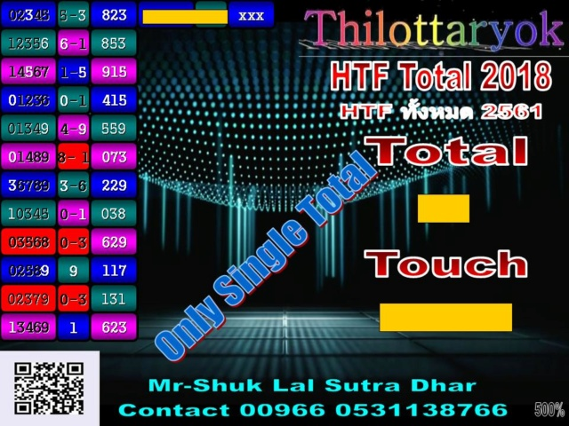 Mr-Shuk Lal 100% Tips 16-07-2018 - Page 3 Total_19