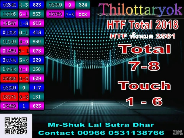 Mr-Shuk Lal 100% Tips 16-08-2018 - Page 2 Total_25