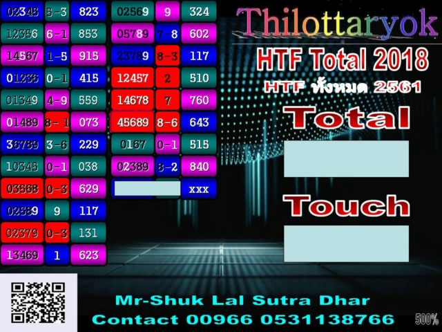 Mr-Shuk Lal 100% Tips 16-11-2018 - Page 2 Total_43