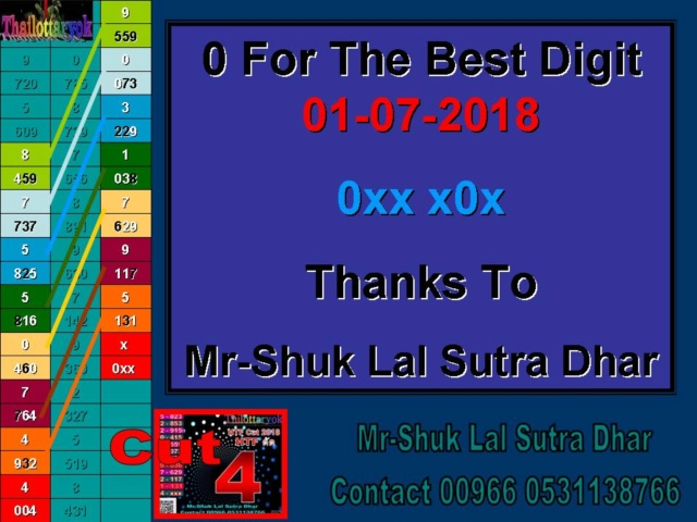 Mr-Shuk Lal 100% Tips 01-07-2018 - Page 16 Tytyty10
