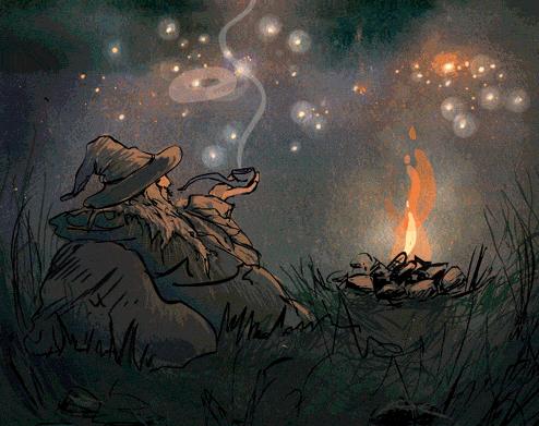 Olórin, ami des hobbits Captur14