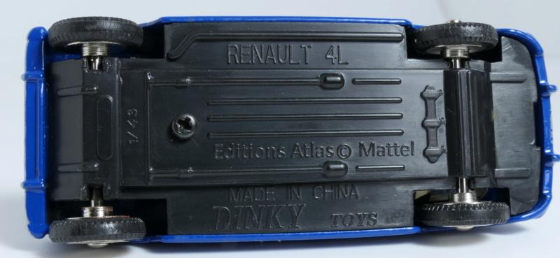 dinky ATLAS Renault 4L Base_r17