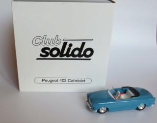numéro 1 peugeot 403 cabriolet Peugeo13