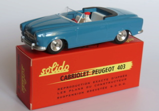 numéro 1 peugeot 403 cabriolet Peugeo18