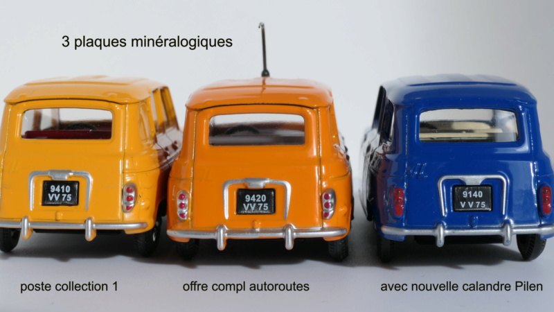 dinky ATLAS Renault 4L Renaul25