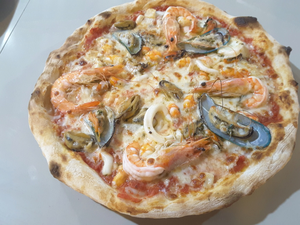 Pizza fruits de mer.....vos avis 20190510