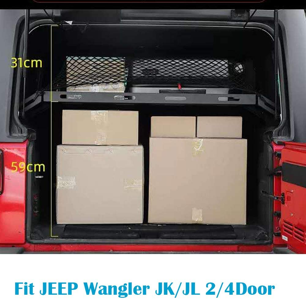 Jeep Wrangler JKU rear cargo rack Altezz10