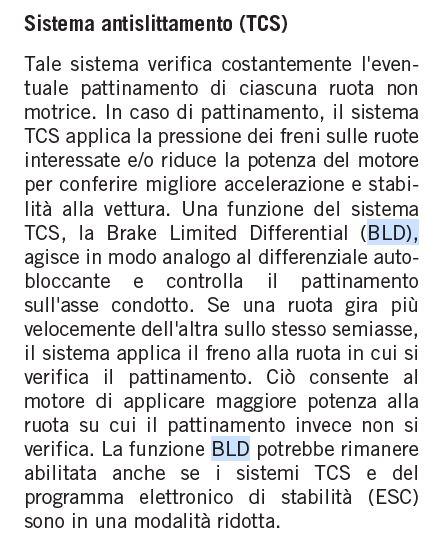 Differenziale autobloccante  Bld10
