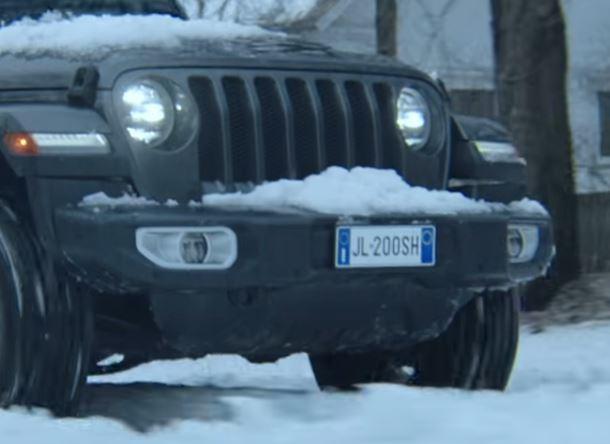 Nuovo spot TV  Jeep  Targa10