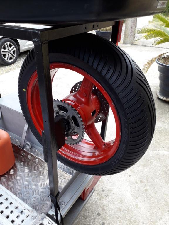Bridgestone Racing Battlax W01 - Pneu Pluie  20190541