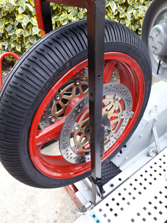 Bridgestone Racing Battlax W01 - Pneu Pluie  20190542