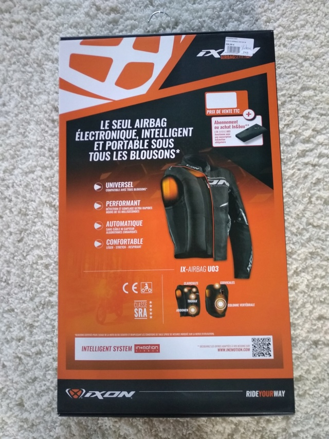 Gilet Airbag Ixon Ix-airbag UO3 Img_2072