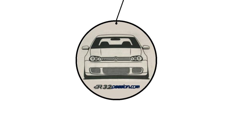 """[Suggestion] Désodorisant auto personnalisé  """"R32Passion"""" Zd10"""