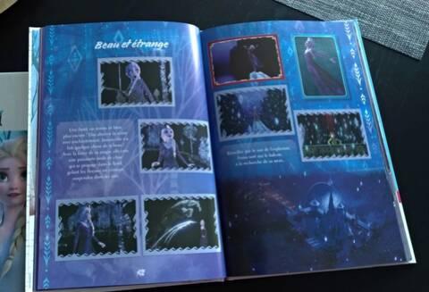 PANINI carte 193-Disney Frozen la reine 2 cartes de collection série 2019