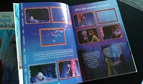 2019 PANINI carte 189-Disney Frozen la reine 2 cartes de collection série