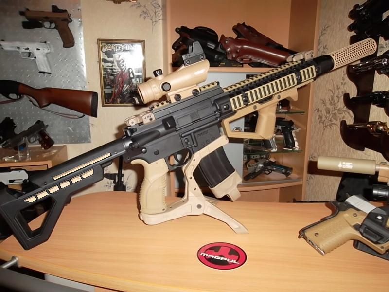 AR15 DPMS Crosman Modifier Sam_4210