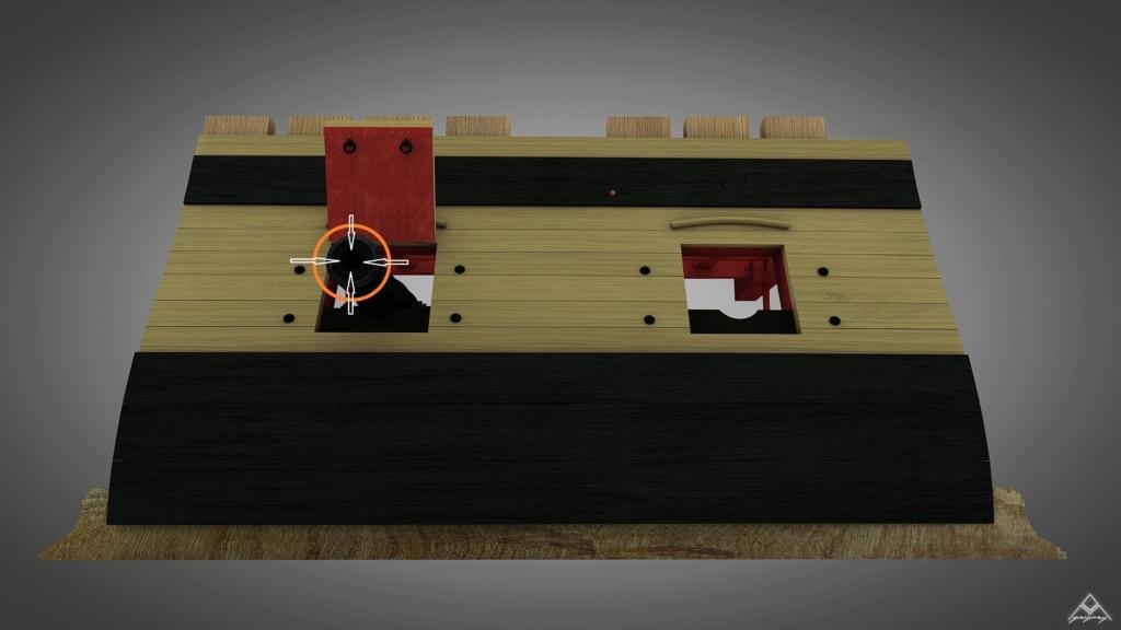 Canons pour le vaisseau de 74 canons - Page 11 2_rend11