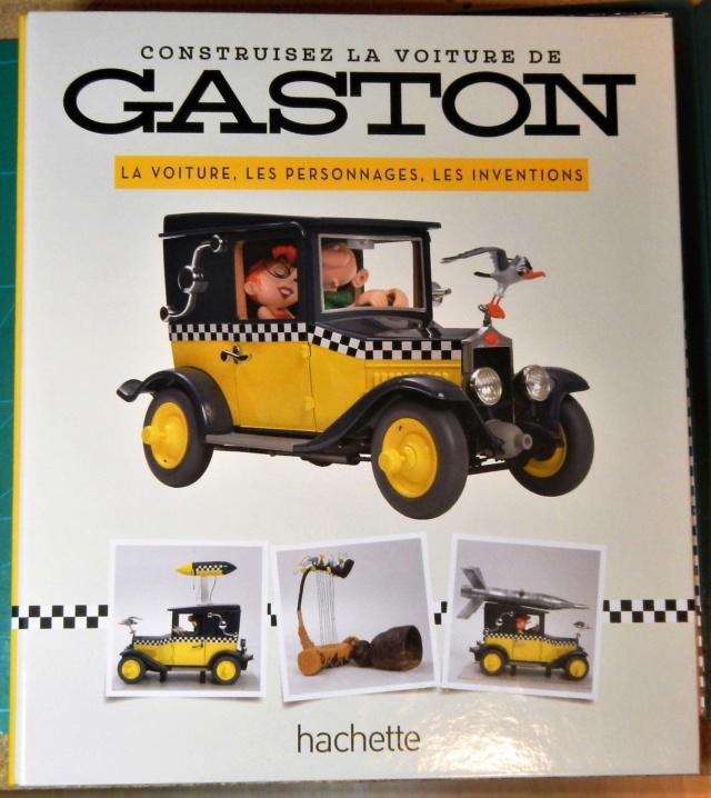 """Construction, par Glénans, de la """"Voiture de Gaston"""" au 1/8, de chez Hachette Classe10"""