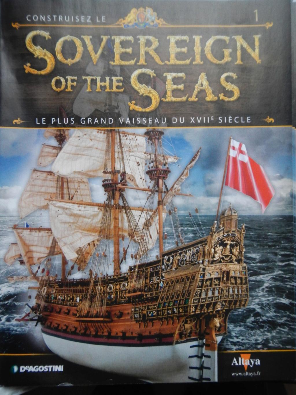 """Construction du """"Sovereign of the Seas"""" au 1/84 par Glénans - Partie II - Page 37 Dscn1610"""