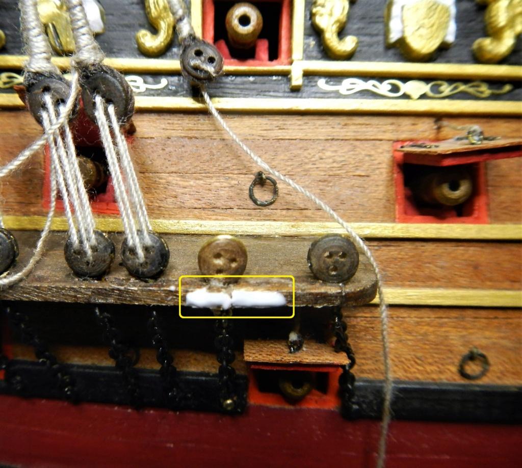 """Construction du """"Sovereign of the Seas"""" au 1/84 par Glénans - Partie II - Page 43 Dscn1829"""