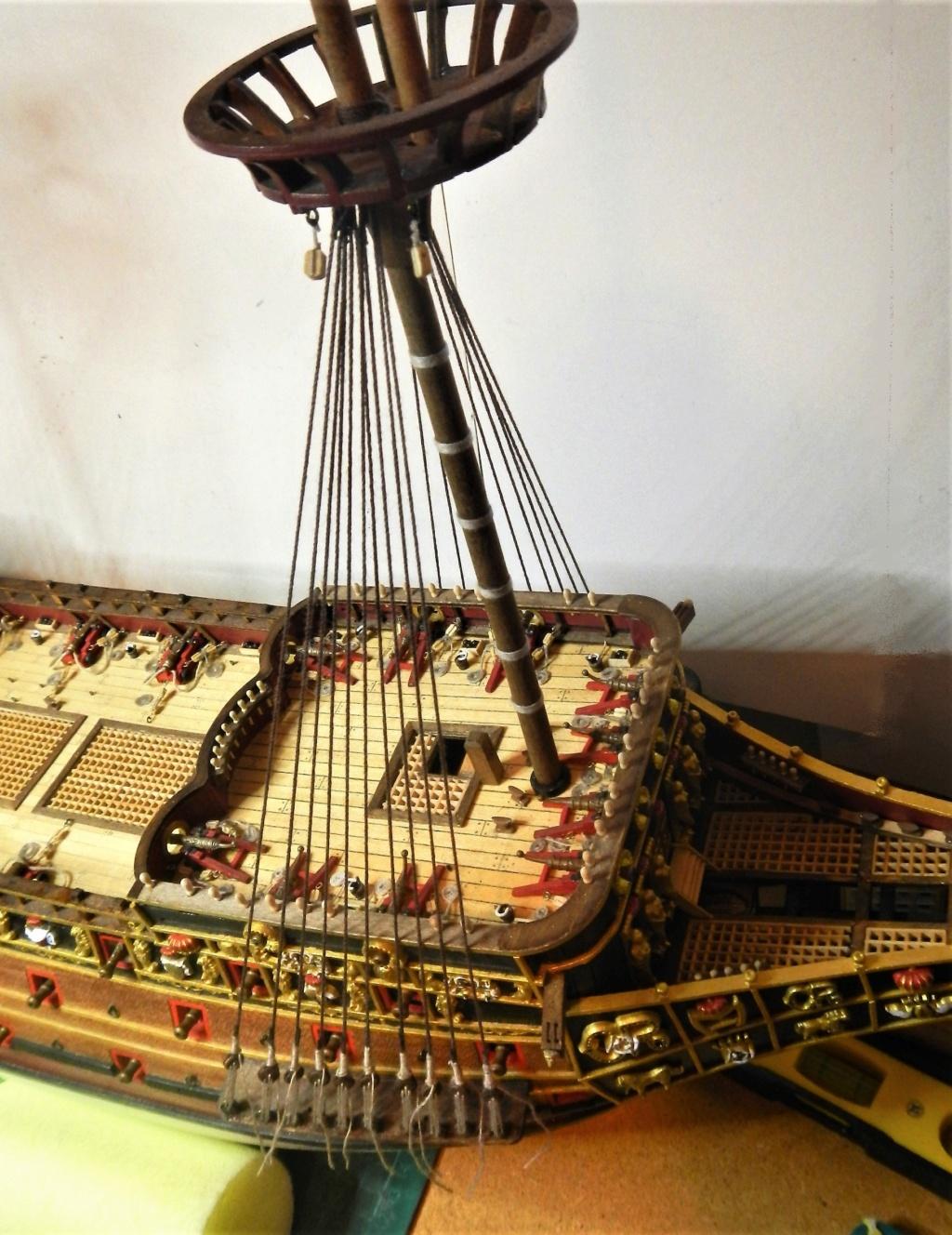 """Construction du """"Sovereign of the Seas"""" au 1/84 par Glénans - Partie II - Page 43 Dscn1830"""