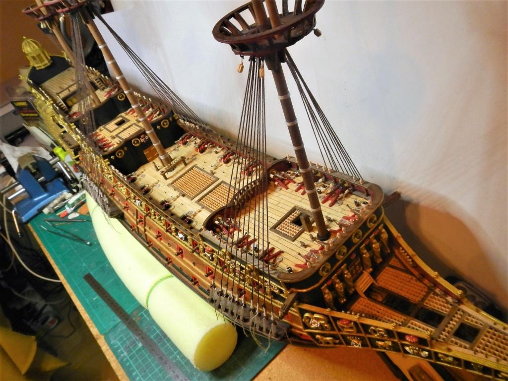 """Construction du """"Sovereign of the Seas"""" au 1/84 par Glénans - Partie II - Page 43 Dscn1832"""