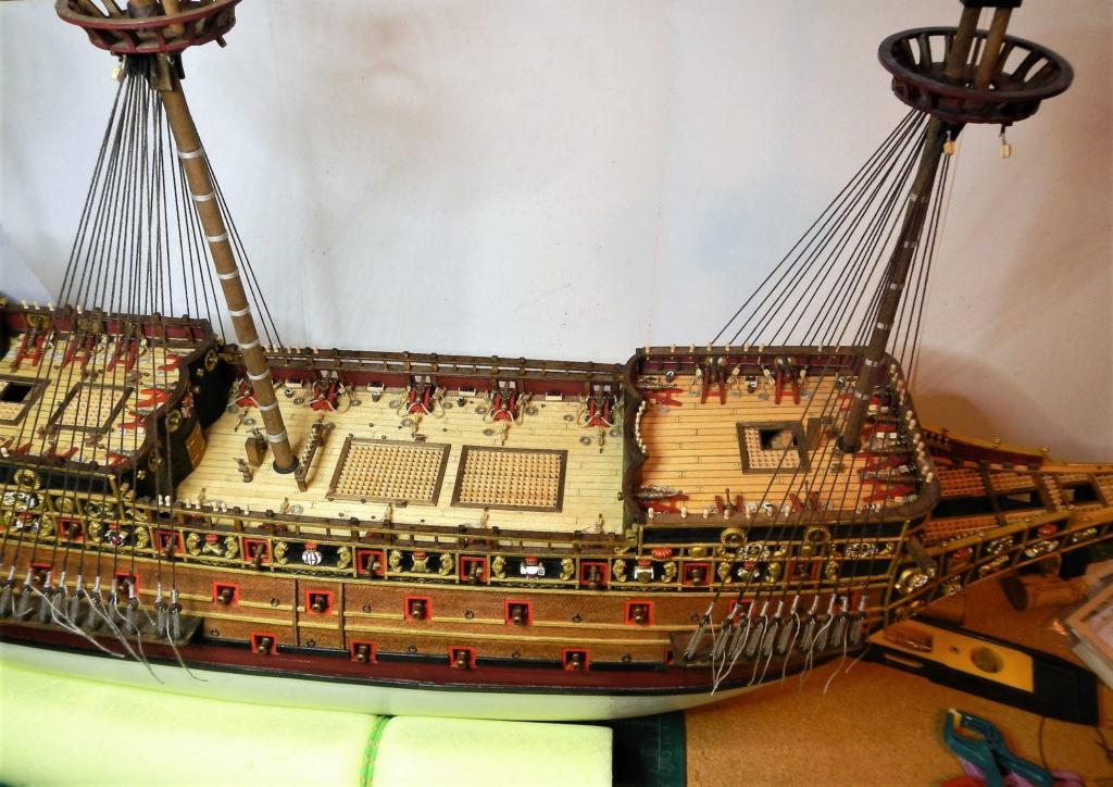 """Construction du """"Sovereign of the Seas"""" au 1/84 par Glénans - Partie II - Page 43 Dscn1834"""