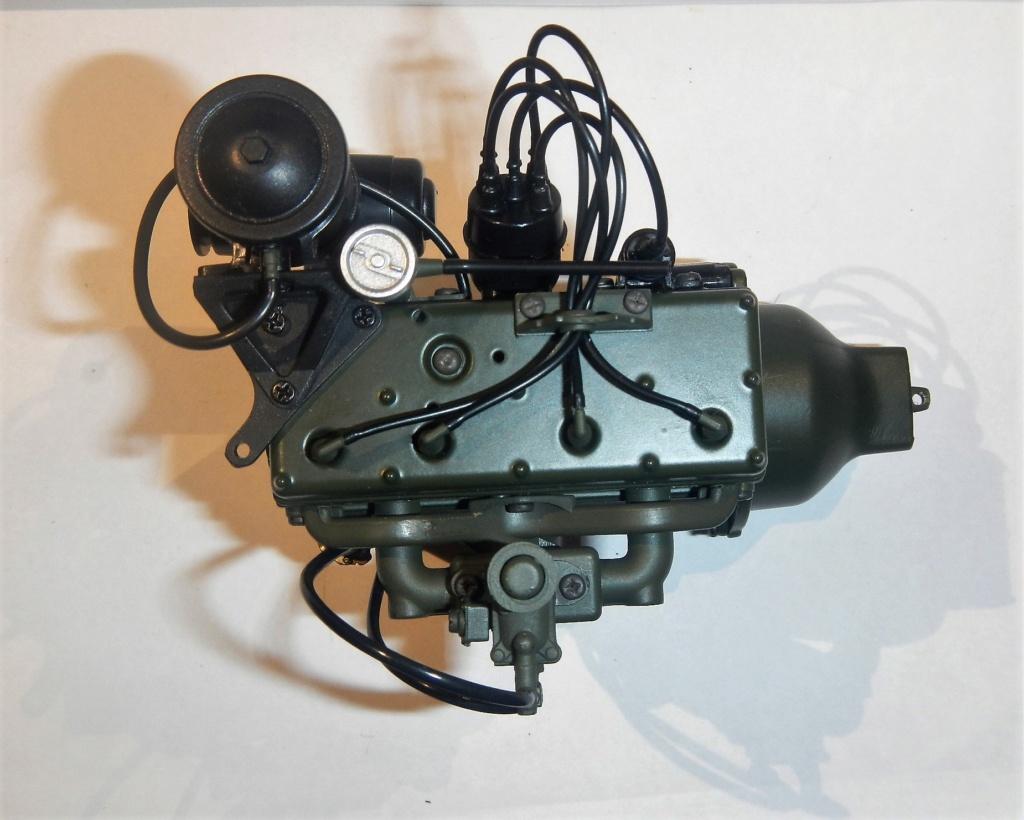 """099) """"Jeep Willys MB"""" et sa remorque au 1/8, proposée par les Ed. Hachette, montée par Glénans (Partie 1). Dscn7210"""
