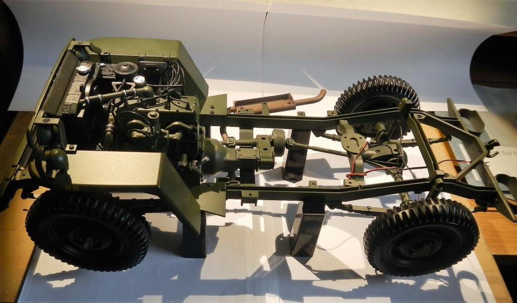 """101/ """"Jeep Willys MB"""" et sa remorque au 1/8, proposée par les Ed. Hachette, montée par Glénans (Partie 2). Dscn8110"""
