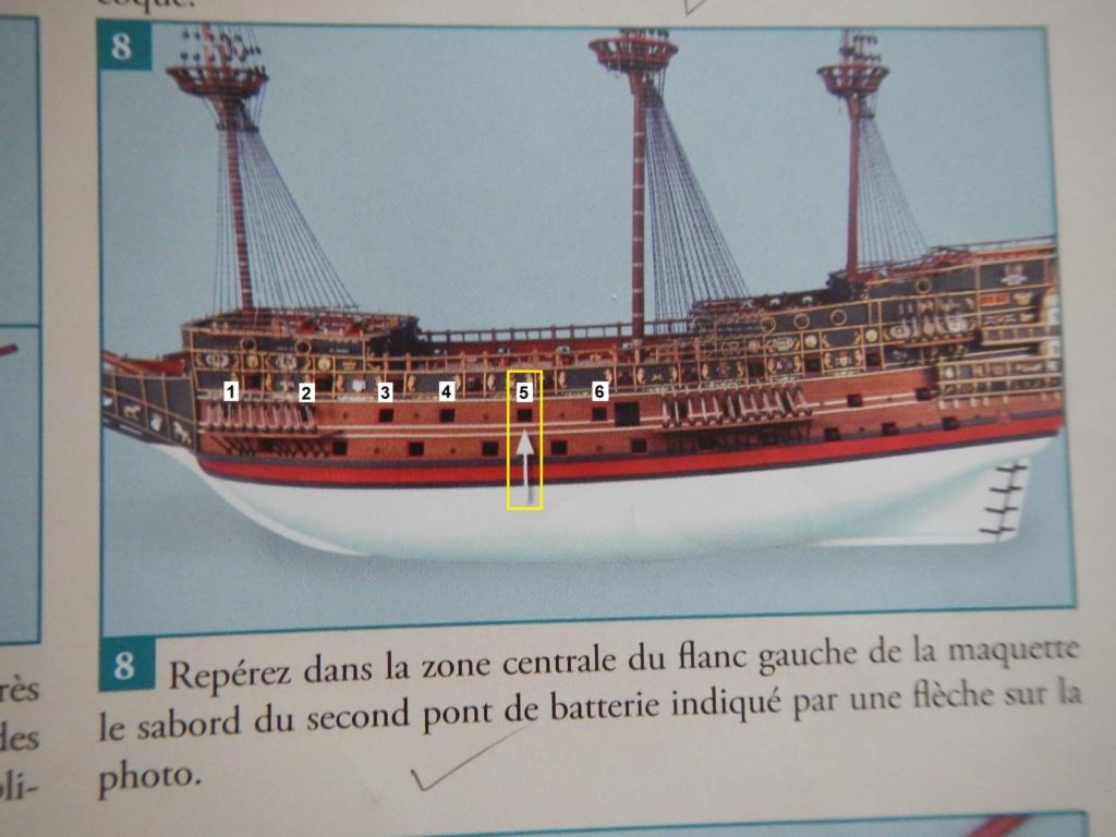 """Construction du """"Sovereign of the Seas"""" au 1/84 par Glénans - Partie II - Page 38 Dscn9133"""