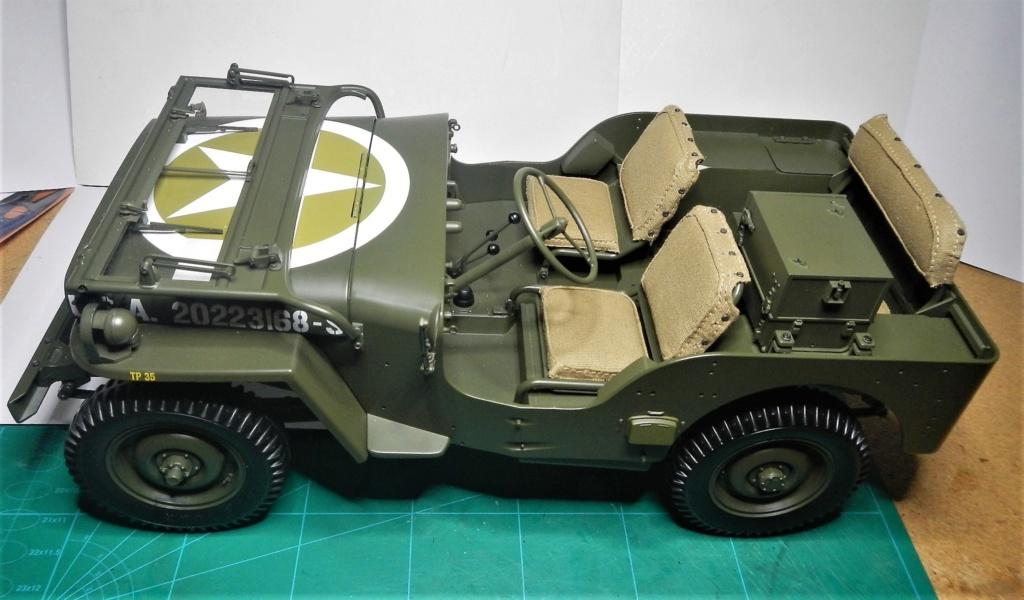 Jeep Willys - 1/8ème - Ed. Hachette - Construction par Glénans (Partie 2) Dscn9263