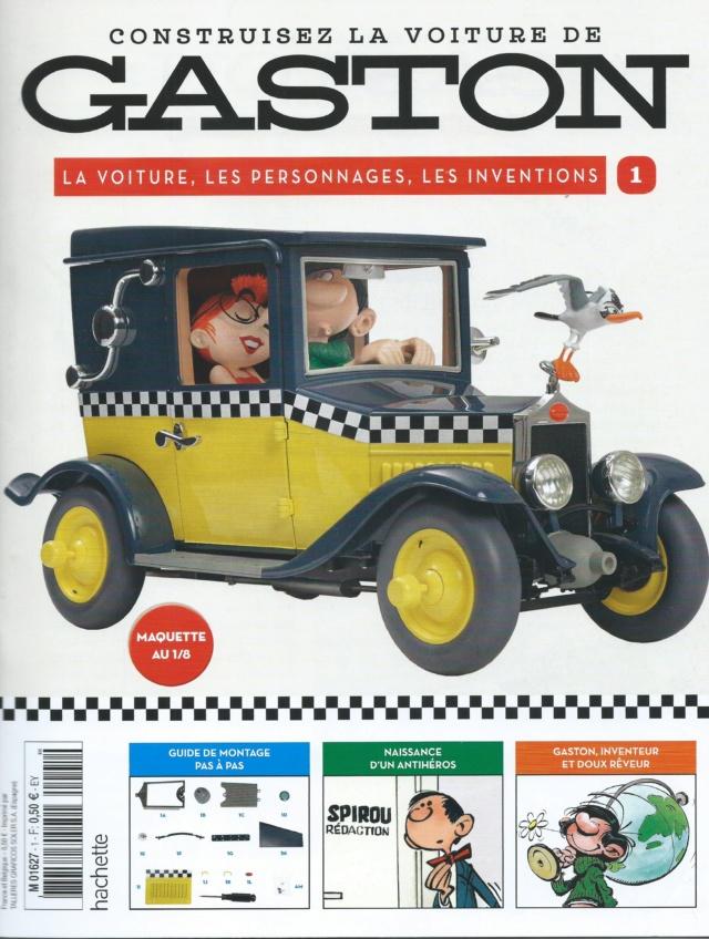 """Construction, par Glénans, de la """"Voiture de Gaston"""" au 1/8, de chez Hachette N01_pa10"""
