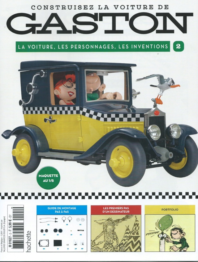 """Construction, par Glénans, de la """"Voiture de Gaston"""" au 1/8, de chez Hachette N02_pa10"""