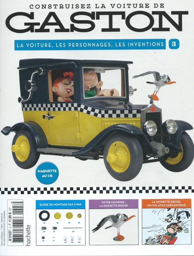 """Construction, par Glénans, de la """"Voiture de Gaston"""" au 1/8, de chez Hachette N03_pa10"""